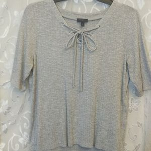 The Limited gray short sleeves XL top